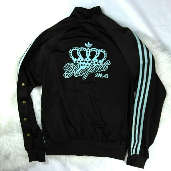 Adidas Originals Missy Elliott Respect Me Casual Jacket